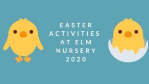 Easter activities 2020